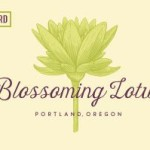 Blossoming Lotus portland oregon
