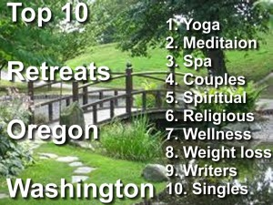 Top 10 Retreats in the Pacific Northwest
