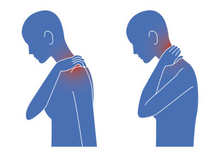 pain in the shoulder is caused by a ghost