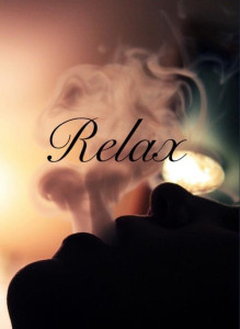 Relax weed smoke