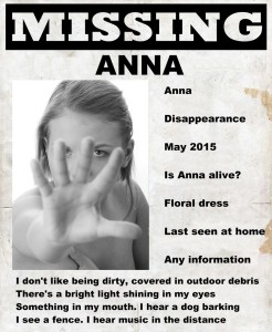 Missing Anna disappearance clairvoyant psychic medium