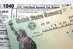 have some of these tax checks coming back to you