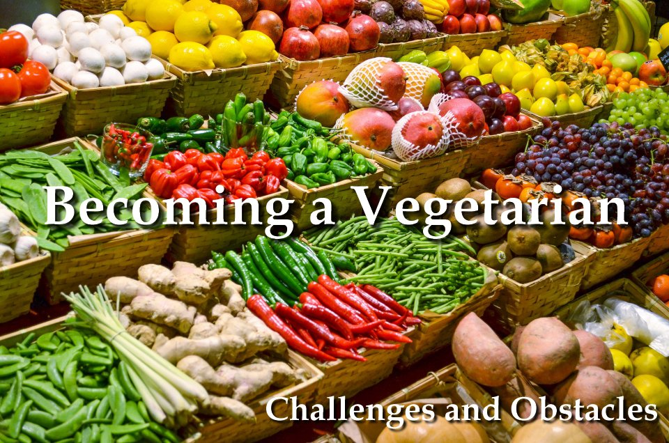 Becoming a Vegetarian Challenges and Obstacles to expect