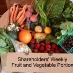 Shatreholders weekly fruit and vegetable portion example community shared agriculture csa