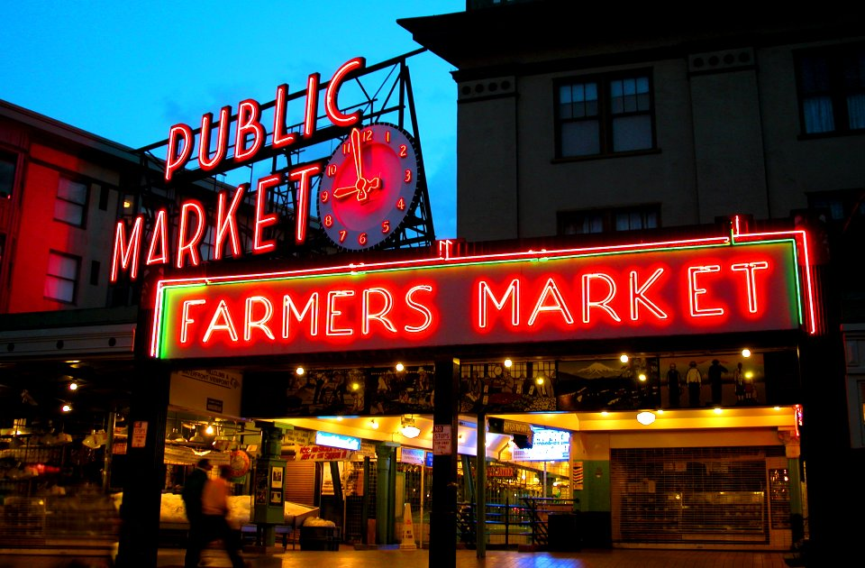pike place farmers market seatlle