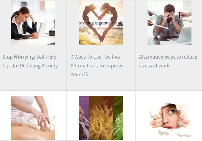 worrying self help anxiety positive affirmations alternative reduce stress cupping