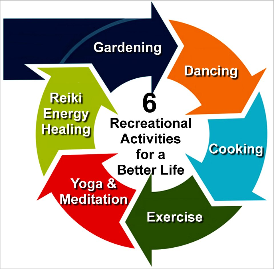 6 recreational activities for a better life