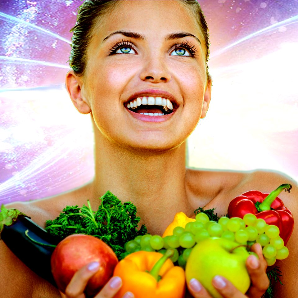 organic produce and the third eye