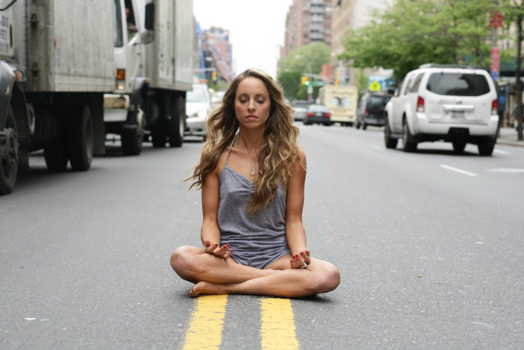 time for meditation in the rat race of life