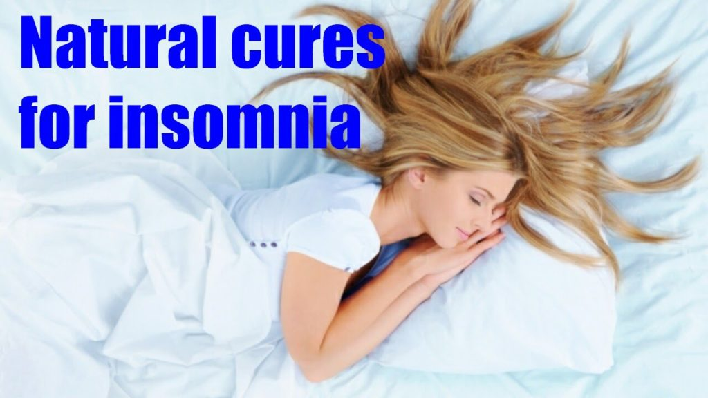 Natural Ways To Treat And Cure Insomnia